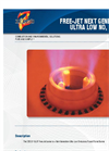 Zeecos - GLSF FREE-JET - Round Flame Gas – Brochure