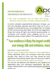 Environmental Awareness Workshops Service – Brochure