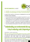Environmental Audit Service – Brochure