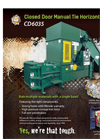 REI - Model CD6035 - Closed Door Manual Tie Horizontal Baler - Brochure