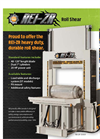 REI REIZR Roll Shear - Brochure