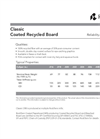Coated Recycled Board (CRB)