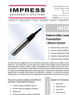 IML Series - Submersible Level Transmitter Brochure