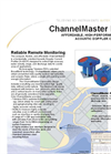 Teledyne - H-ADCP ChannelMaster - Acoustic Doppler Current Profiler Brochure