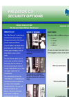 UltraShred G3 Security Options - Brochure