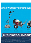 Cold Water Pressure Washers Catalog