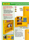 Model ECO 2001 - 2000 - Safety Cabinets- Brochure