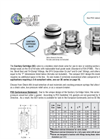 Model HV - Horizontal Vertical Flanged & Drilled Check Valve Brochure