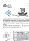 Model Style- CB, TC - Sanitary Insert Valve Brochure