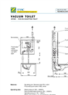 Evac Squatting Toilet - Technical Brochure