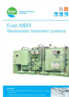 Evac - Model MBR - Membrane Bioreactor, Biological Wastewater Treatment Systems - Brochure
