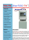 StarTOC - TOC/TN - On-Line Process Analyzer Brochure