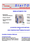 Semi - Automatic High Temp Combustion and UV/Persulfate Brochure