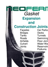 Neoferma - Gasket For Expansion & Compression Joints Brochure