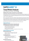 SafeGuard - Offline Water Quality Analyzers Brochure