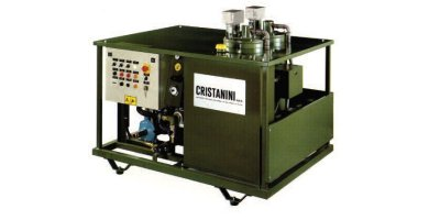 Cristanini - Stand-alone Degassing and Sterilising System