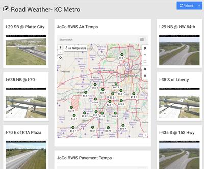 Contrail® for Road Weather Information