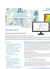 OneRainware - Real-time, Future and Historical Rainfall Data Services - Brochure