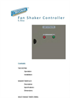 Fan/Shaker Dust Collector Brochure
