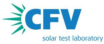 CFV Solar Test Laboratory