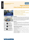 Urban Drainage Geomembrane System Brochure