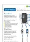Water Quality Monitoring Software- Brochure