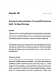 MeshAir AP - Common Communication Protocols - Brochure