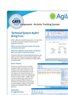 Agilaire - Version CATS - Component Activity Tracking Module - Brochure