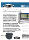 ECHO - Sludge Hunter and Xducer - Blanket Interface Level Measurement   Brochure