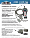 Arrow Hunter Plus - Portable HandHeld Clamp-on Flowmeter Brochure