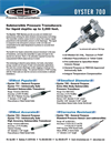 Oyster - Model 700 - Submersible Pressure Transducer Brochure