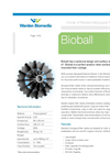 Warden Biomedia - Model Bioball - Biological Filter Media - Brochure