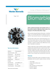 Warden Biomedia - Model Biomarble - Biological Filter Media - Brochure