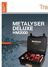 Trace2o Metalyser - Model Deluxe HM2000 - Portable Heavy Metals Analysis System - Brochure