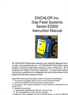 Model 2000 Series - Gas Feeders Systems - Operation Manual