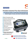 E8500 - Portable Industrial Flue Gas & Emissions Analyzer Brochure
