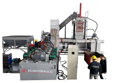 ECOHYDRAULIC - Model WBJ-1000 - Briquetting Press