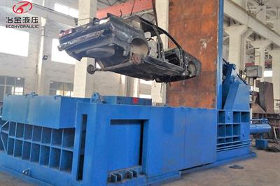 ECOHYDRAULIC - Model YDT-400 - Baling Press Car Baler