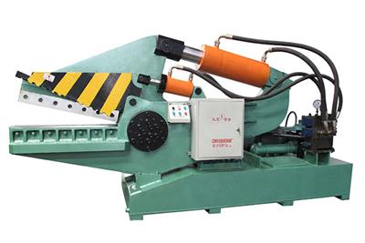 ECOHYDRAULIC - Model Q08-250A - Waste Metal Alligator Shear