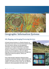 Geographic Information Systems and Cartographic Support Services- Brochure