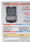 FlashRES - Universal - 61-Channel Resistivity and IP Systems Brochure