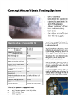 Concept Aircraft Leak Testing System Brochure