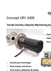Concept - OPL 100S Smoke Density / Opacity Monitoring System Brochure