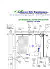 API Design Oil-Water Separator Brochure