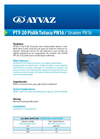 Model PTY-20 - Strainers  Brochure