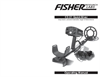 Fisher - Model CZ-21 Series - Quick Silver - Premium Underwater Detector - Manual