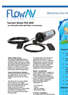 ShortBoard - Model PSA 2000 - Area Velocity Flow Meter with Wireless Communications Brochure