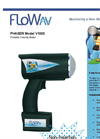 FloWav - Phaser Model V1000 - Portable Velocity Meter Brochure