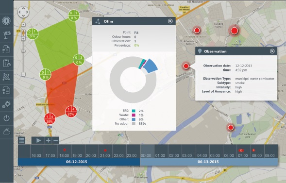 Odourmap - Odour complaints management