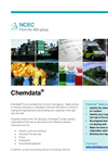 Chemdata Typical Uses Brochure (PDF 137 KB)